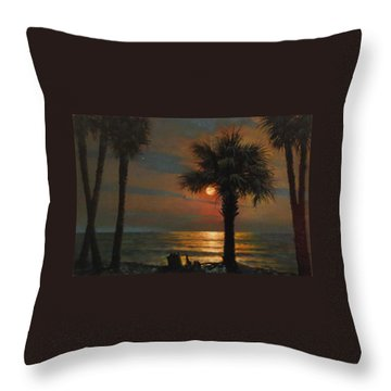 That I Should Love A Bright Particular Star Throw Pillow by Blue Sky