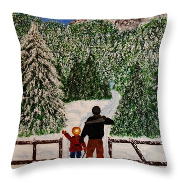 That One Throw Pillow by Celeste Manning