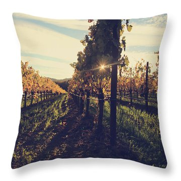 That Special Glow Throw Pillow by Laurie Search