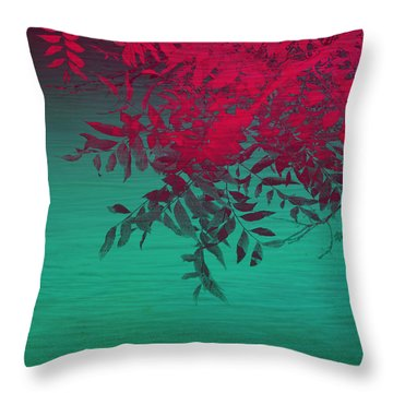 That Tropical Feeling Throw Pillow