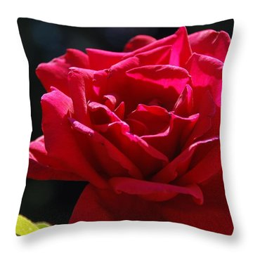 That Which We Call A Rose Throw Pillow by Eric Tressler