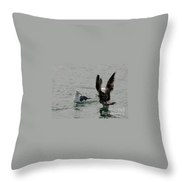 That's Mine     I Saw It First. Throw Pillow by Dan Friend