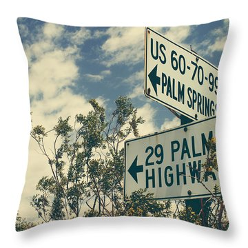 Thattaway Throw Pillow