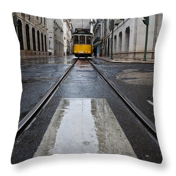 The 28 Throw Pillow by Jorge Maia