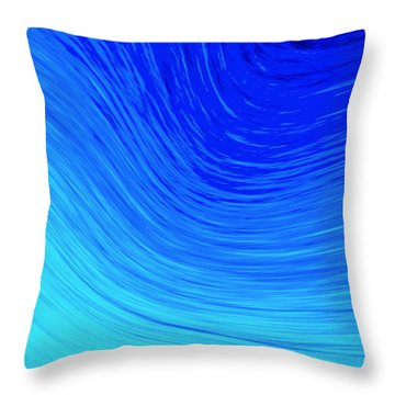 The 2nd Wave Throw Pillow by Kellice Swaggerty