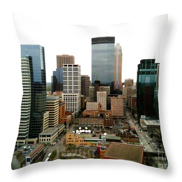 The 35th Floor Throw Pillow