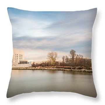 The 35th President Throw Pillow