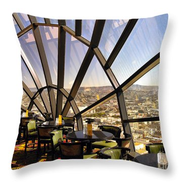 The 39th Floor - San Francisco Throw Pillow