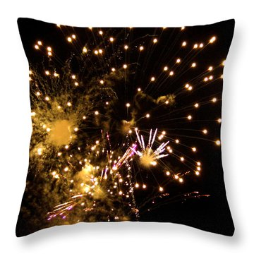 The 4th Of July 2013 Throw Pillow by Kim Pate