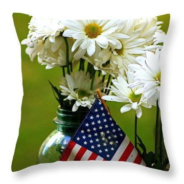 The 4th Of July Throw Pillow