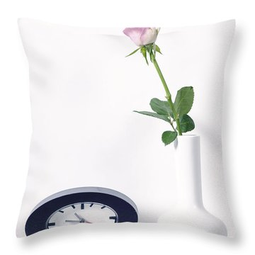 The 60s Style Throw Pillow by Joana Kruse