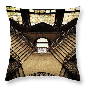 Downtown Throw Pillows