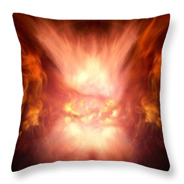Godess Of Faa Throw Pillow by Bill Stephens