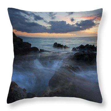 The Abyss Throw Pillow by Mike  Dawson