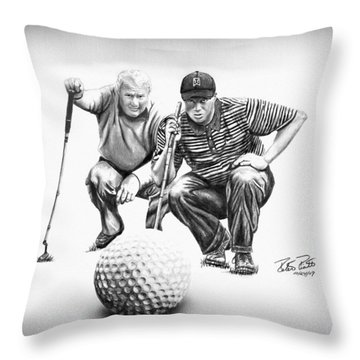 The Advisor Le Throw Pillow by Peter Piatt
