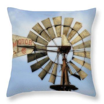 The Aermotor Company Throw Pillow