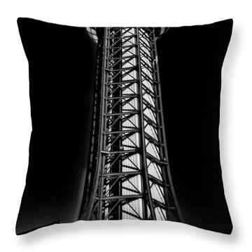 The Amazing Sunsphere - Knoxville Tennessee Throw Pillow