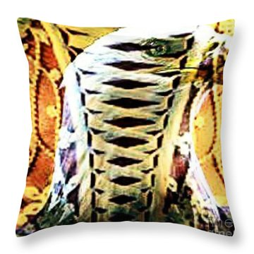 The American Bald Eagle Naughty Eagle 2 Throw Pillow