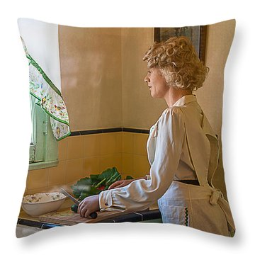 Throw Pillow featuring the photograph The American Dream by Gunter Nezhoda
