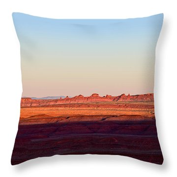 The American Southwest Throw Pillow by Christine Till