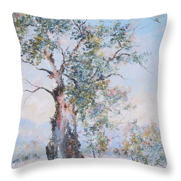 The Ancient Gum Tree Throw Pillow