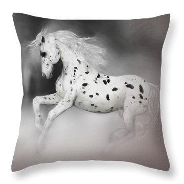 The Appaloosa Throw Pillow