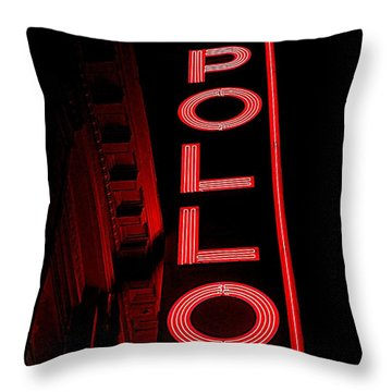 Apollo Theater Throw Pillows