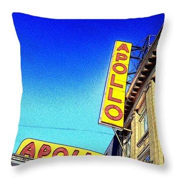 The Apollo Throw Pillow by Gilda Parente