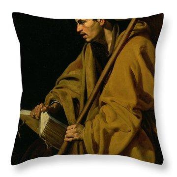 The Apostle St. Thomas Throw Pillow