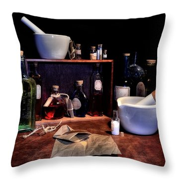 The Apothecary Color Throw Pillow