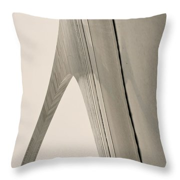 The Arch Throw Pillow by Jane Eleanor Nicholas
