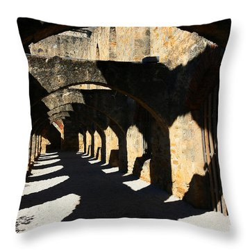 Throw Pillow featuring the photograph The Arches by Jeanette French
