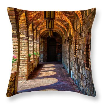 The Arches Throw Pillow