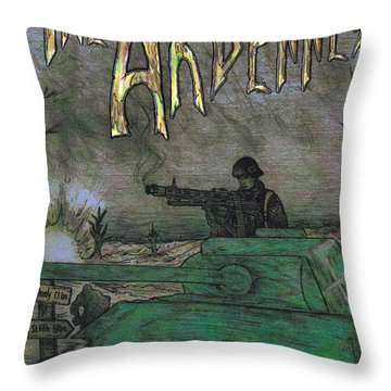 The Ardennes Throw Pillow