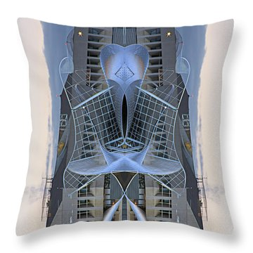 The Art Gallery Throw Pillow