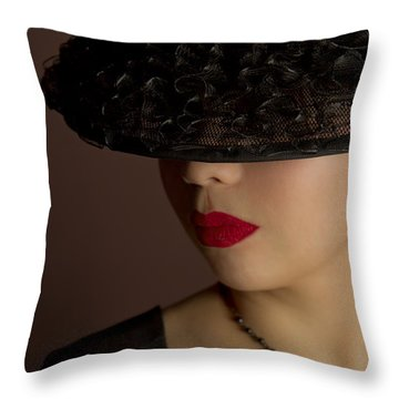 The Art Of Being A Woman Throw Pillow