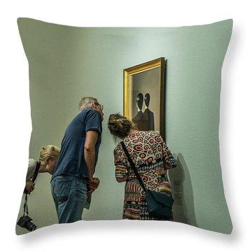 Art Museum Throw Pillows