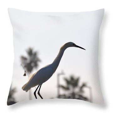 The Art Of Fishing Throw Pillow