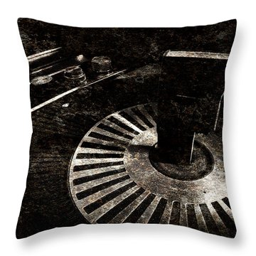The Art Of Music Throw Pillow by Jessica Brawley