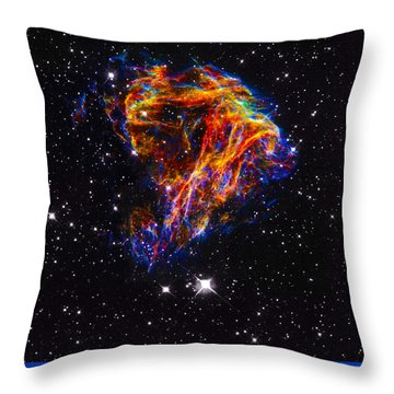 The Art Of The Universe 310 Throw Pillow by The Hubble Telescope