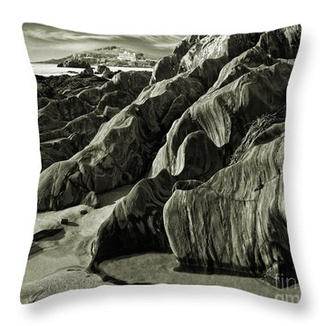 The Art Of Time Throw Pillow