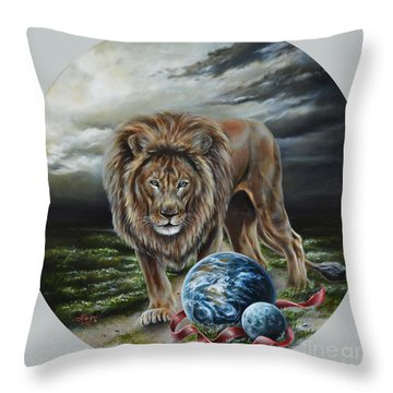 The Art Of War Throw Pillow