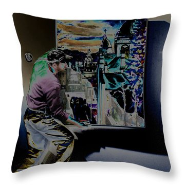 The Artist Paul Emory Throw Pillow