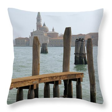 Throw Pillow featuring the digital art The Artist by Ron Harpham