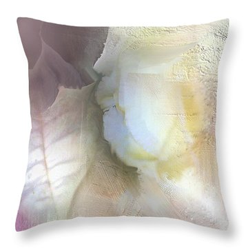 The Artrists Rose Throw Pillow