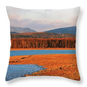 The Ashokan Reservoir Throw Pillow
