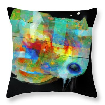 The Athiest Throw Pillow