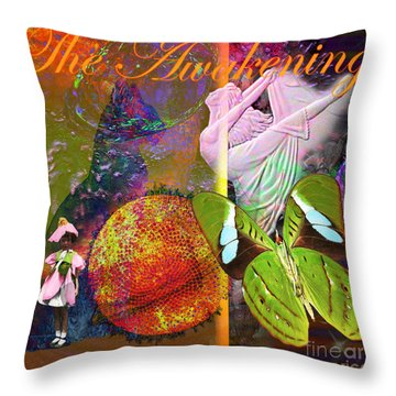 Solar Self Throw Pillow by Joseph Mosley