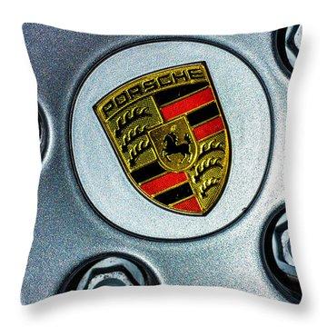 The Badge Throw Pillow