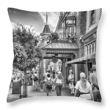 Throw Pillow featuring the photograph The Bakery by Howard Salmon
